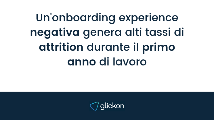 onboarding experience e dati